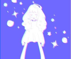 girl, 女の子, and illustration image