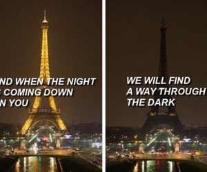 paris, one direction, and dark image