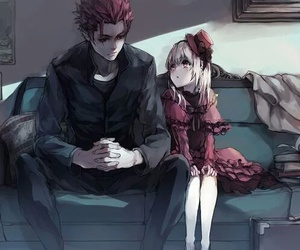 anime, anna, and k project image