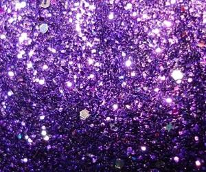 purple, glitter, and wallpaper image