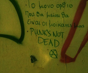 greeks, punk, and punks not dead image