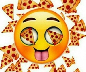 pizza and emoji image