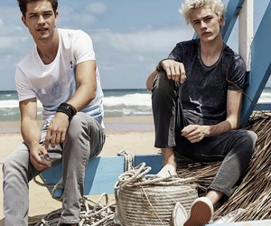 campaign, lucky blue smith, and Francisco Lachowski image