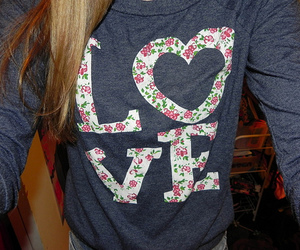 love and shirt image