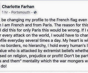 flag, paris, and borders image