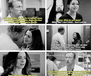 greys anatomy, otp, and owen hunt image
