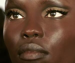 model, beautiful, and makeup image