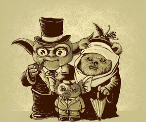 yoda, gremlins, and funny image