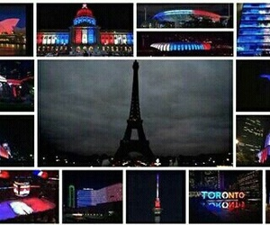 parigi, paris, and prayforparis image