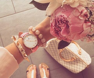 fashion, vintage, and flowers image
