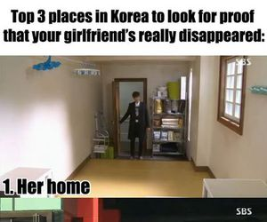 funny, lee minho, and girlfriend image