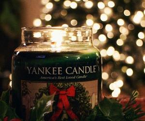 christmas, candle, and holiday image