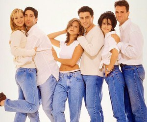 funny, tv show, and friends image