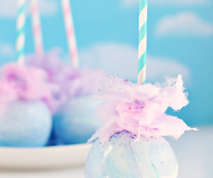 pastel, blue, and sweet image