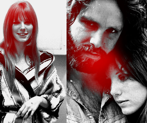 Jim Morrison, pam, and the doors image