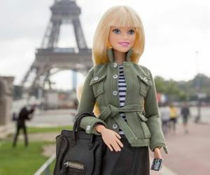 barbie, paris, and girl image