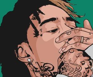 art, dope, and khalifa image