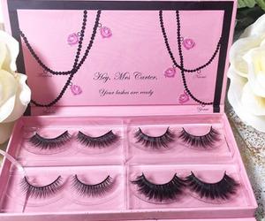 beauty, cosmetics, and fake lashes image