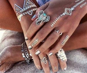 accessories, fashion, and tatoo image