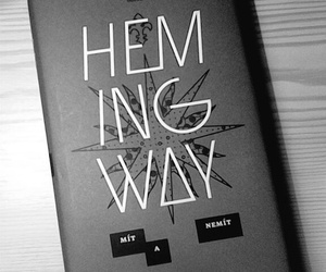 book, black+and+white+, and hemingway+ image