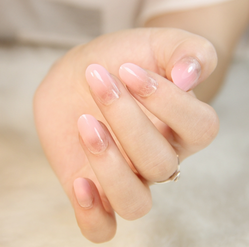 most natural looking fake nails on we heart it