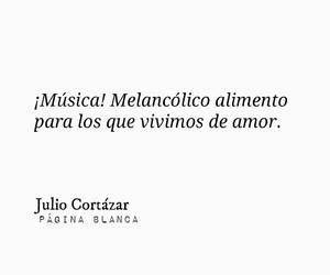 book, julio cortazar, and music image