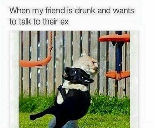 best friend, drunk, and funny image