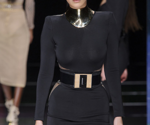 Balmain, model, and outfits image