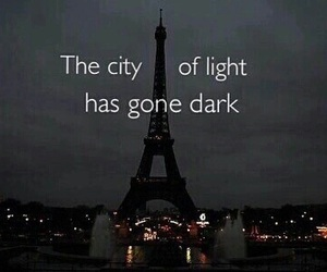 paris, prayforparis, and pray image