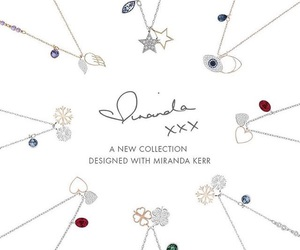 jewelry, Swarovski, and miranda kerr image