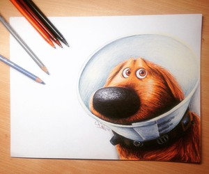 disney, dog, and art image