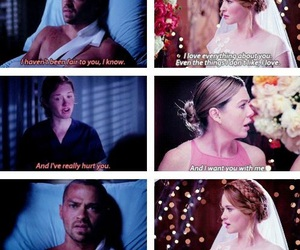 ellen pompeo, meredith grey, and jackson avery image