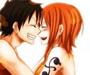 anime, one piece, and love image