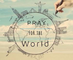 help, pray, and world image