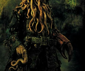 pirates of the caribbean and Davy Jones image