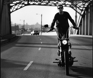 biker, freedom, and on the road image