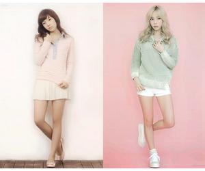 taeyeon, girls generation, and korean image
