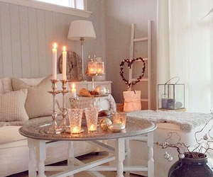 cosy, beautiful, and candle image