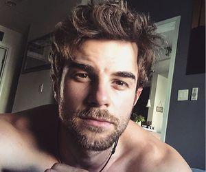 beard, Hot, and man image