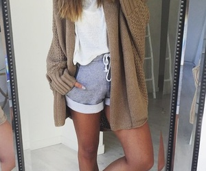clothes, sporty, and fashion image