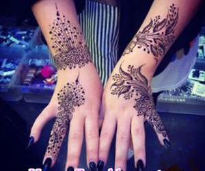 beauty, body art, and designs image