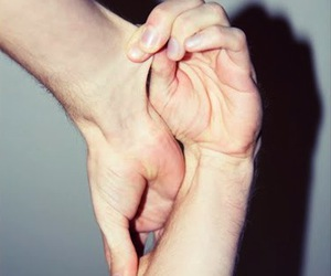 hands, skin, and stretch image