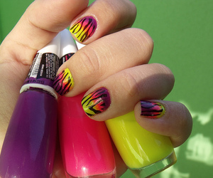 colors, youtube, and nail art image