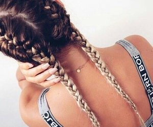 braids, fashion, and girls image