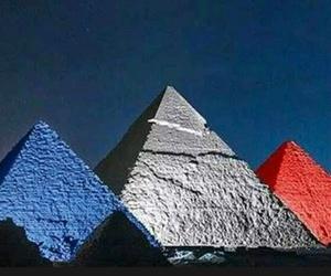 egypt, paris, and pyramid image
