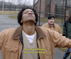 oitnb, funny, and titanic image