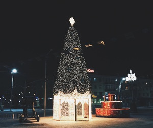 happy new year, lights, and merry christmas image