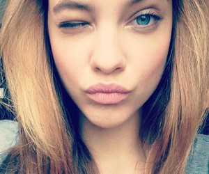 barbara palvin, model, and lips image