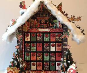 advent calendar, diy, and christmas image