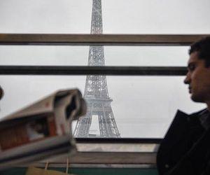 travel, paris, and love image